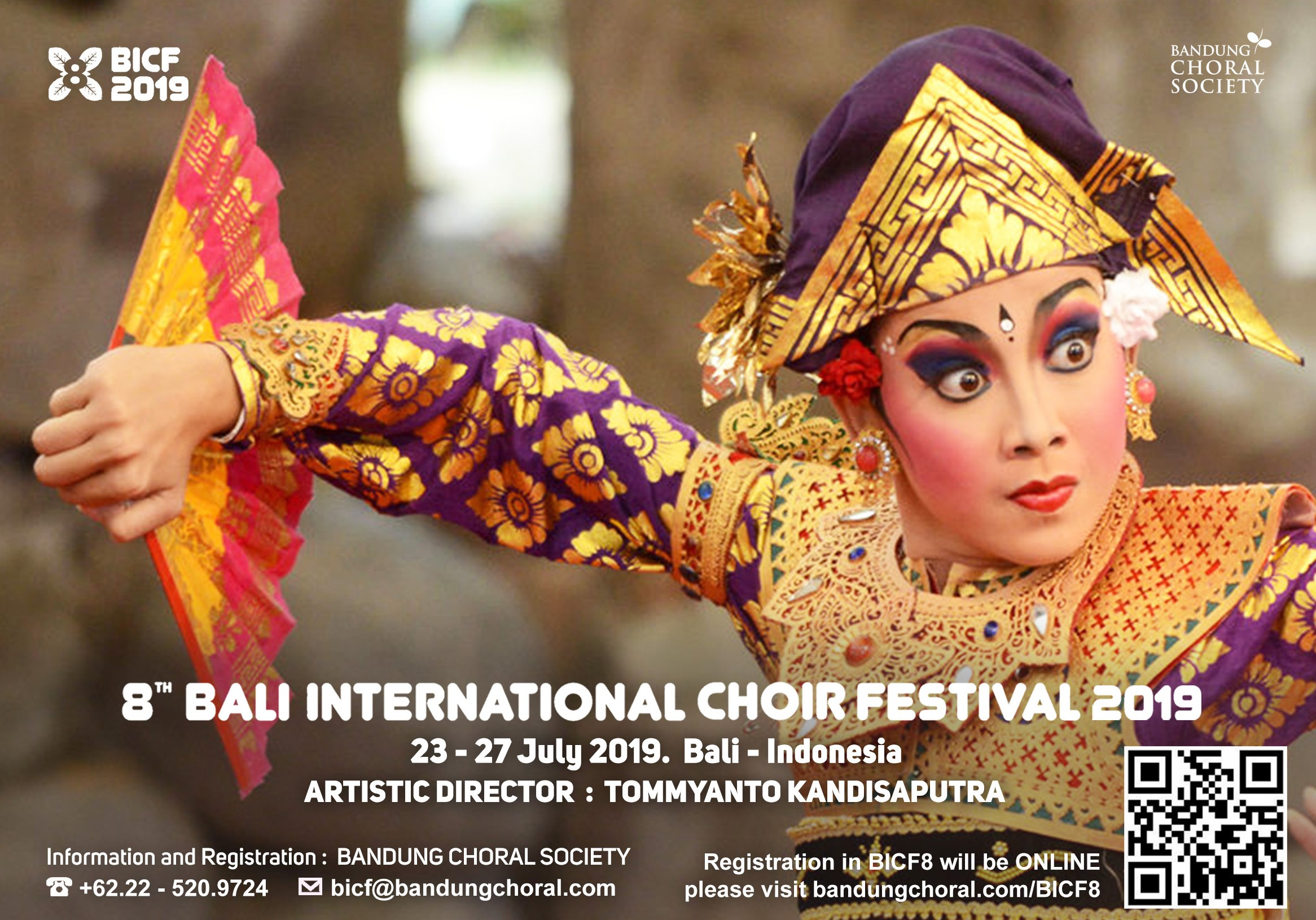 8th Bali International Choir Festival 2019